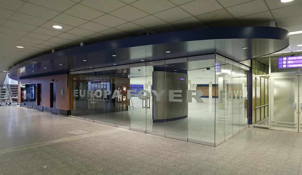 BREEDVELD G10 - foyer - glaswand