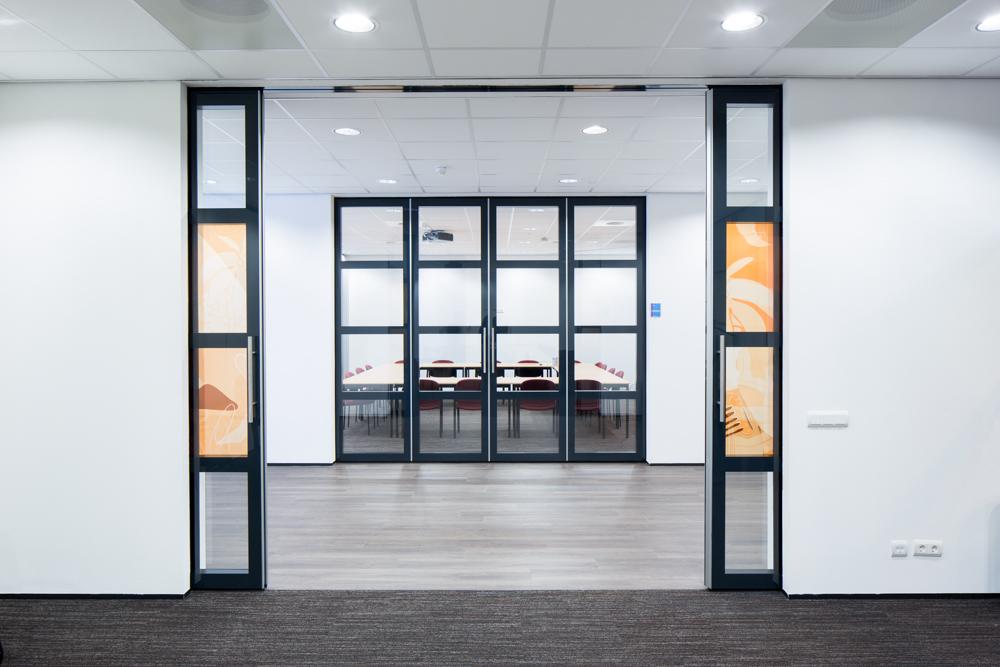 BREEDVELD Schuifwanden S90 - kantoor dubbel glas