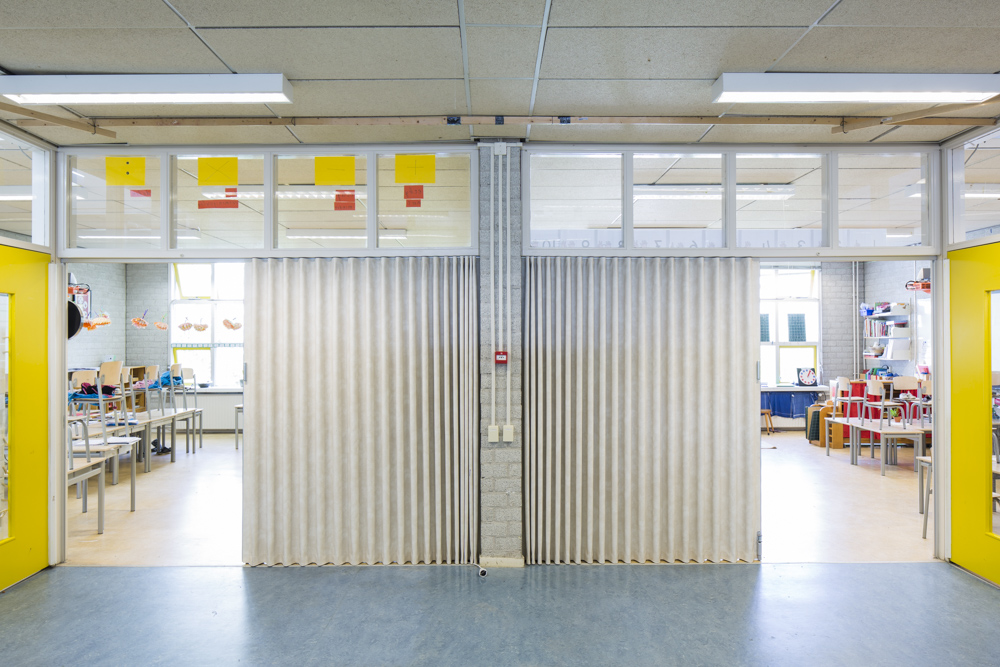 BREEDVELD Skaileren vouwwand F220 - school