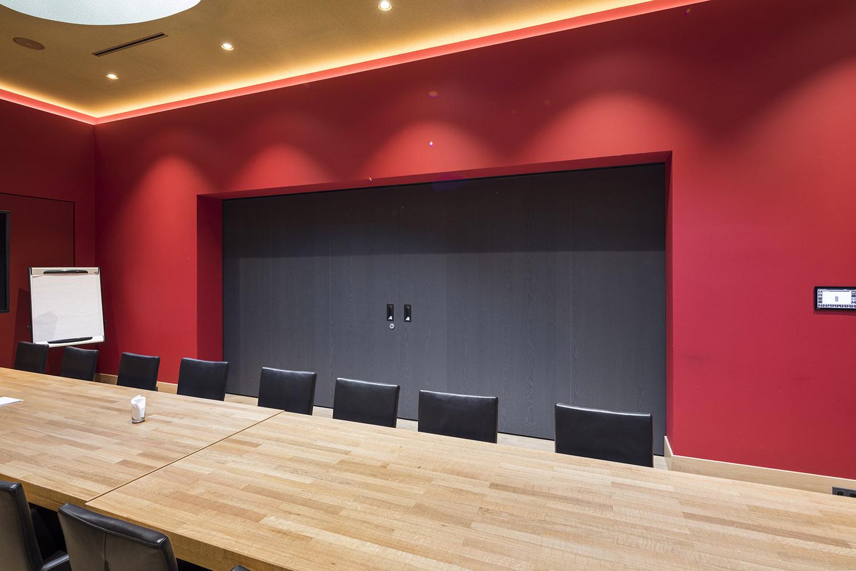 BREEDVELD schuifwand S110 - grote aula dicht