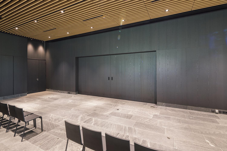 BREEDVELD schuifwand S110 - grote aula