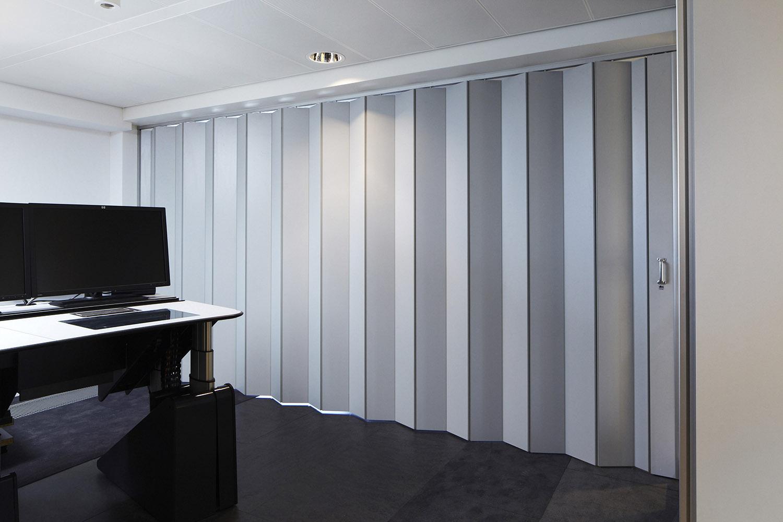 BREEDVELD vouwwand F200 - visuele afscheiding kantoor