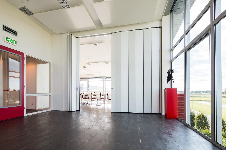 BREEDVELD vouwwand F600 - vergaderruimte