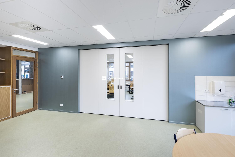 Schuifwand S110g middensluiting klaslokaal hoofdfoto - dicht